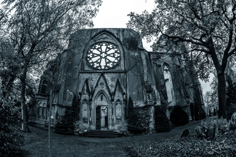 Kirchenruine in Wachau - Sehenswürdigkeit in der Nähe von Leipzig