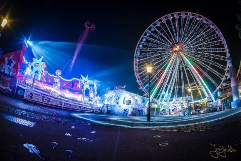 Riesenrad - Wiener Prater bei Nacht