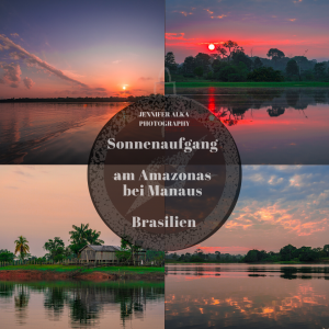 Sonnenaufgang im Amazonas (Manaus / Brasilien)