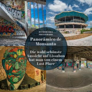 Panorâmico de Monsanto – Die wohl schönste Aussicht auf Lissabon hat man von einem Lost Place