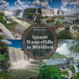 Iguazu Wasserfälle in Brasilien