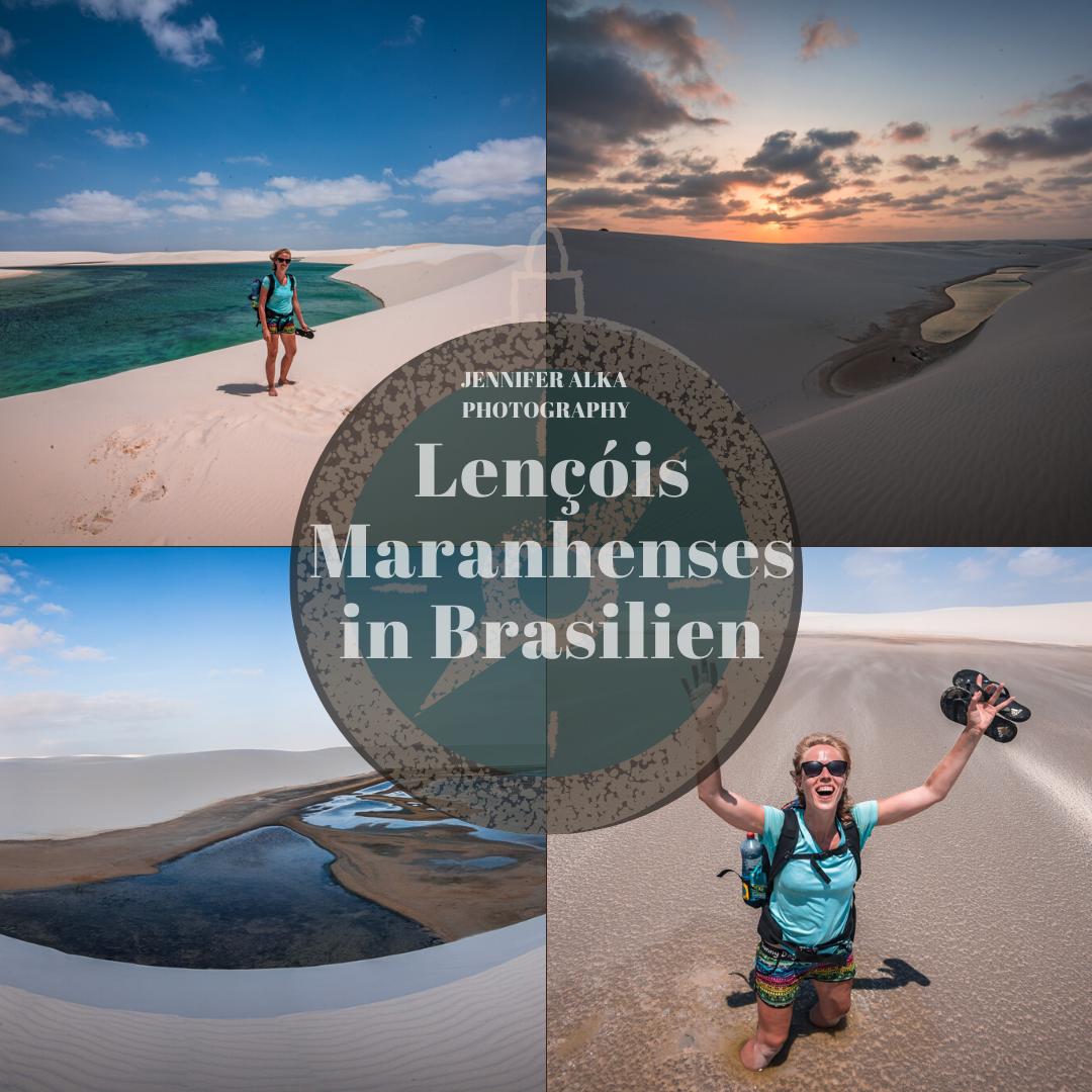 Lençóis Maranhenses in Brasilien