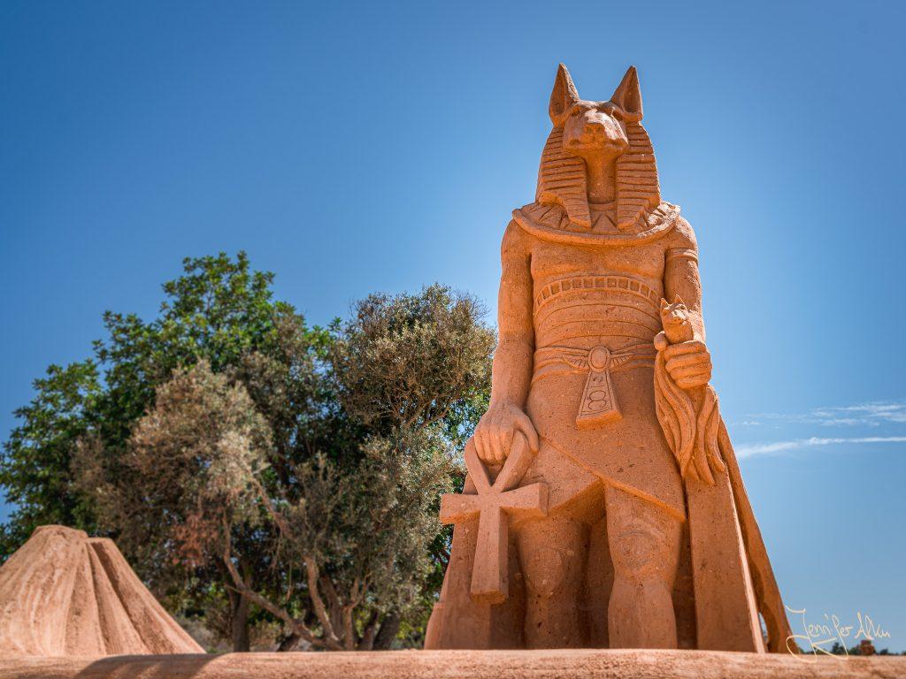 Sand City – Das Sandskulpturenfestival in Portugal