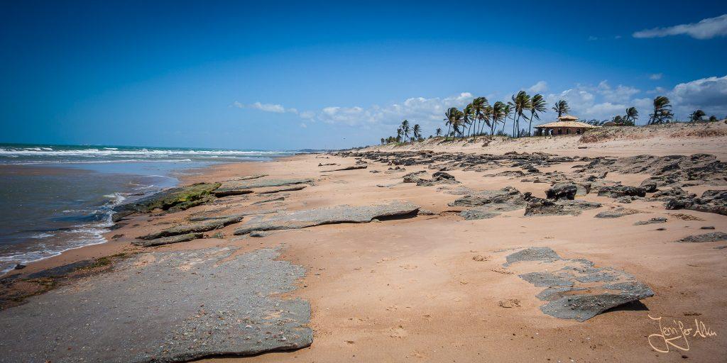Das erwartet dich, wenn du nach rechts in Richtung Praia de Majorlândia läufst